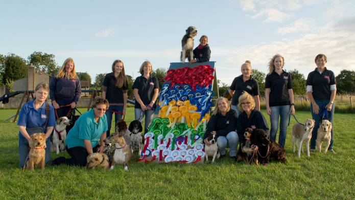 Tail wags for dog training school after show success - Yeovil Press ...