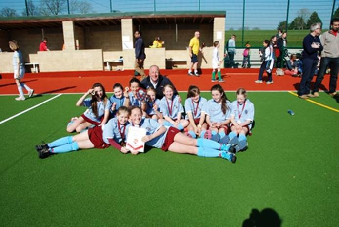 Hockey Yeovil And Sherborne Club Under 12s Are County