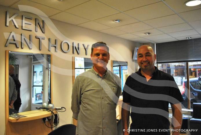 YEOVIL NEWS Ken Anthony Hair Design Celebrates 25 Years