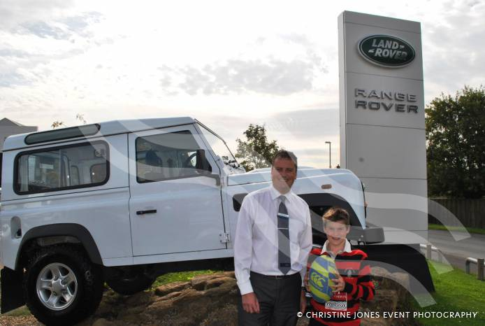 rugby yeovil land rover wishes murray well on rugby world. Black Bedroom Furniture Sets. Home Design Ideas