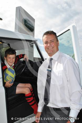 RUGBY: Yeovil Land Rover wishes Murray well on Rugby World Cup ...